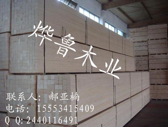 包装木方 杨木LVL定尺木方