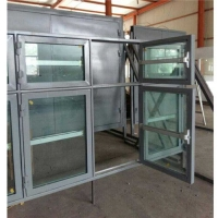 家庭防护门窗、河北碳结钢板直销钢质泄爆窗