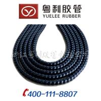 供应PP保护套 液压胶管专用套管 螺旋弧面护套黑色