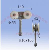 中型工业尼龙直杆吊轮吊轨BHW-450B/N型