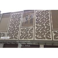 佛山铝铜雕刻中国风装修装饰幕墙