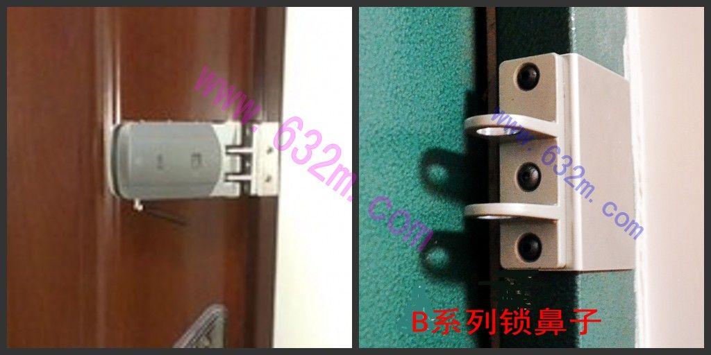 德国mck遥控锁隐形电子锁防锡纸开锁防盗门锁产品图片
