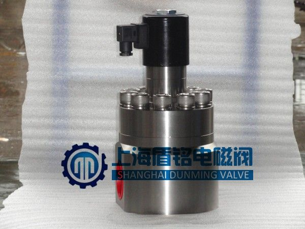 超高压电磁阀80mpa 进口品质 常闭型