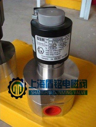 ZCG超高压电磁阀 气、水、油、蒸汽