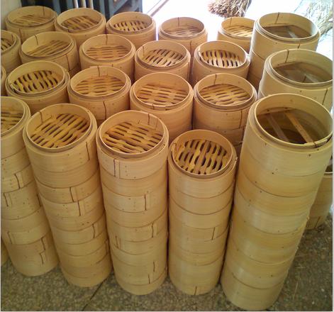 3.5寸竹制品蒸笼深山老竹