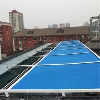 加工定制卷轴式天幕篷 屋顶自动天幕棚 别墅阳光房天幕遮阳篷