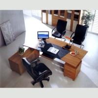 办公接待台002|春意办公家具|陕西办公家具