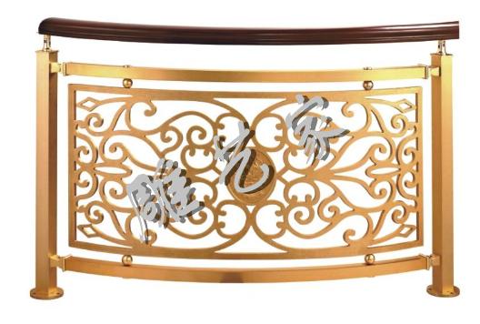 仿古铜铝雕刻镂空铝板护栏
