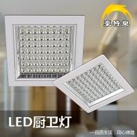 LED厨卫灯批发 厨房LED吸顶灯 嵌入厨卫灯 厨卫灯品牌