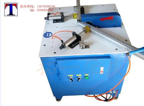 45度90度铝材切割机铝型材切角机气动铝合金切割机