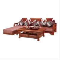 尊派实木家具 帝王赋系列  客厅沙发组合