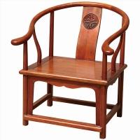 尊派实木家具 帝王赋系列 仿古实木 圈椅