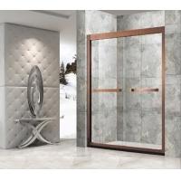 不锈钢卫生间玻璃隔断淋浴门简易淋浴房