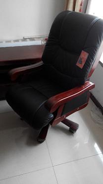 牛皮老板椅太空皮大班椅