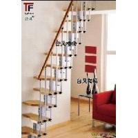 合成木楼梯扶手-生态木楼梯扶手【台风楼梯】