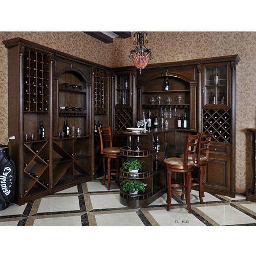 玉林门业-酒柜系列 YL-1035