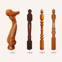 玉林木门楼梯-梯柱系列大柱