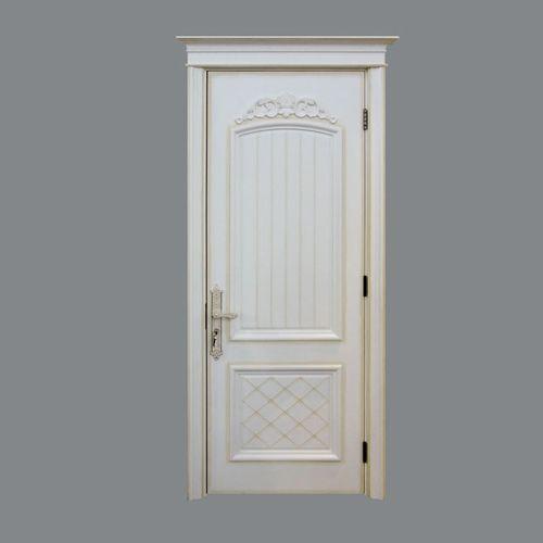 玉林木门白色单门系列YL-5102