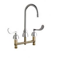 Chicago Faucets 隐蔽式冷热水水槽龙头