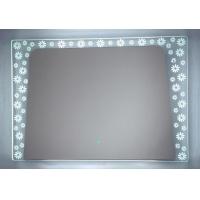 现代简约LED浴室带灯防雾镜