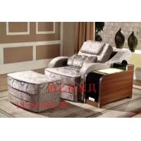 梦浪布艺桑拿沙发洗浴休闲大厅专用沙发床