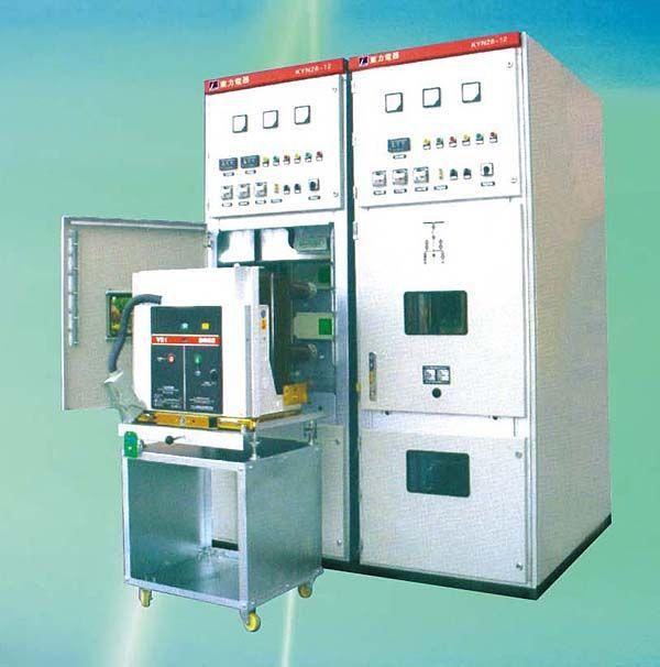 KYN28A 12 移开式中置柜