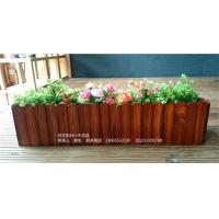 挂式阳台小木花盆7