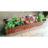 挂式阳台小木花盆8