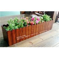 挂式阳台小木花盆9
