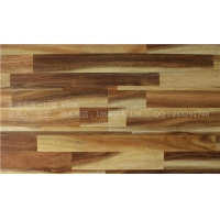 外贸出口环保基材耐磨四边封蜡 防水亮光面强化复合木地板