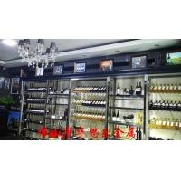 供应红酒展示架 餐厅酒柜 不锈钢酒柜品牌