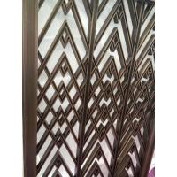 北京镀铜不锈钢屏风、青古铜不锈钢屏风