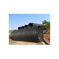 双壁波纹缠绕管,污水井价格 ,复合树脂井盖,PE钢带管