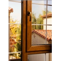 铝包木门窗,别墅专属门窗,铝木复合门窗中空钢化玻璃门窗