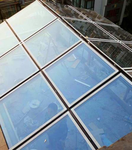 沈阳开捷门窗玻璃阳光房