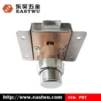 P07-B不锈钢无钥匙按钮船用锁,船用揿按锁房车锁