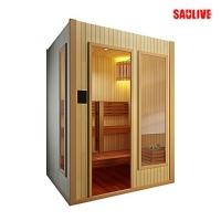 供应SAULIVE品牌进口香柏木桑拿房、光波房