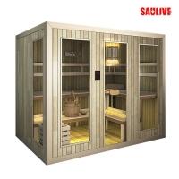 供应SAULIVE品牌进口香柏木桑拿房(干蒸房)、光波房及汗