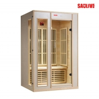 供应SAULIVE品牌进口香柏木桑拿房(干蒸房)、光波房