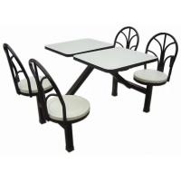 钢木食堂餐桌椅