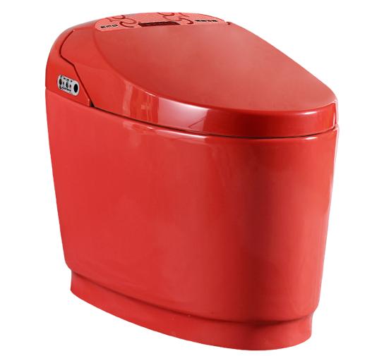 1105红色智能马桶