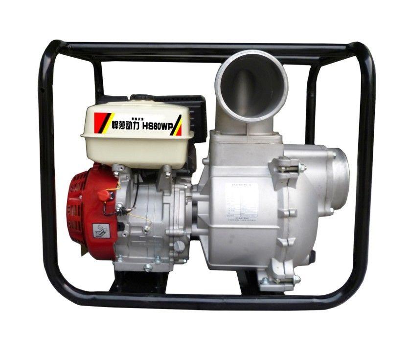 汽油抽水机 悍莎汽油发电机 小型自吸汽油水泵图片