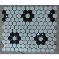 佛山陶瓷六角形马赛克 六角砖 KTV背景墙砖
