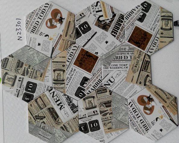 报纸砖 六角砖 防滑砖 仿古砖 陶瓷六角形马赛克