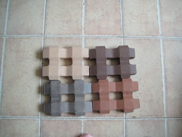 优良草坪砖 植草砖 井字砖 耐磨砖 停车场砖