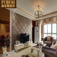 福布斯家居软包背景墙装饰定做 客厅卧室床头电视背景墙软包硬包