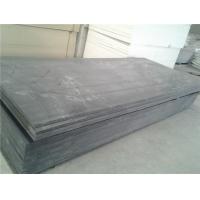 12mmpvc塑料灰板 耐酸碱pvc硬板 深灰色pvc板