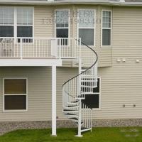 不锈钢室外楼梯,不锈钢立柱,铝镁合金立柱