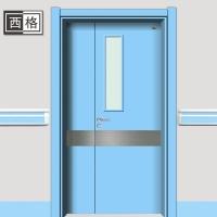 西格综合医院淡蓝色病房门