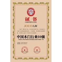 中国木门行业30强